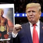 US President, Donald Trump Shares Photoshopped Shirtless Image Of Himself As A Boxer 28