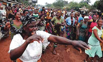 Benue Women Protest Over Mysterious Disappearance Of Male And Female Sex Organs 1
