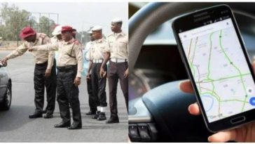 """Using Google Map On Mobile While Driving Is A Serious Offence"" — FRSC Warns Nigerians 2"