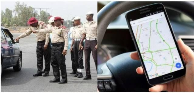 """Using Google Map On Mobile While Driving Is A Serious Offence"" — FRSC Warns Nigerians 1"