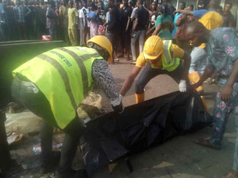 Two children dead, 23 Others Seriously injured In Lagos Gas Explosion 2
