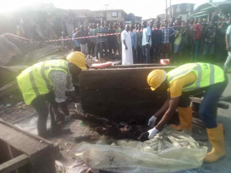 Two children dead, 23 Others Seriously injured In Lagos Gas Explosion 4