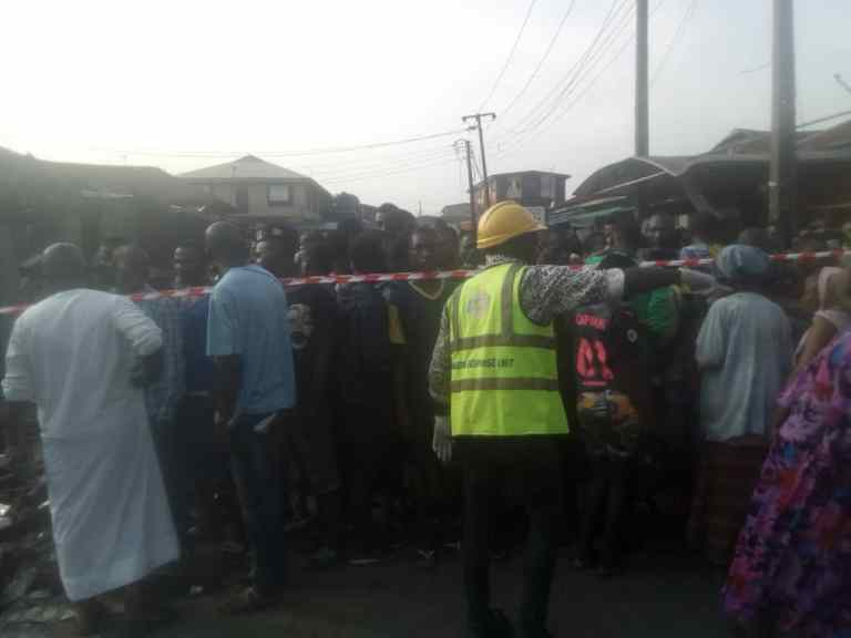 Two children dead, 23 Others Seriously injured In Lagos Gas Explosion 5