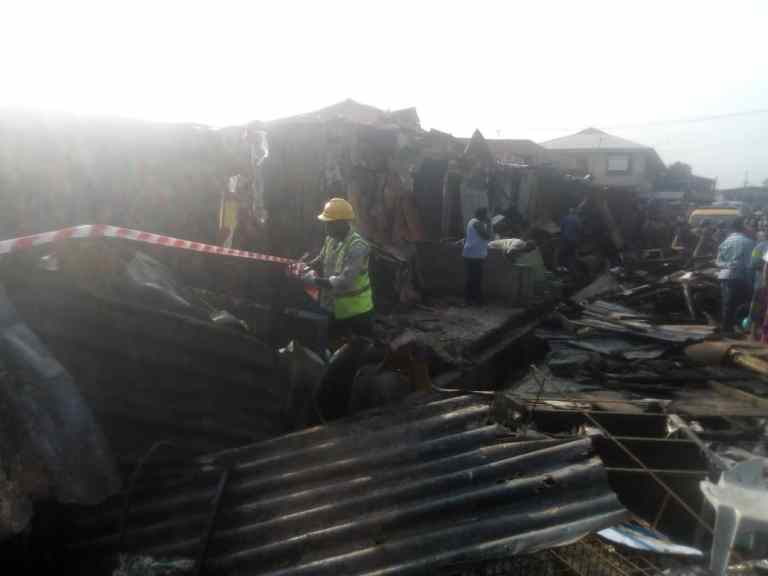 Two children dead, 23 Others Seriously injured In Lagos Gas Explosion 6