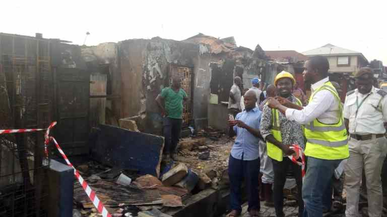 Two children dead, 23 Others Seriously injured In Lagos Gas Explosion 8