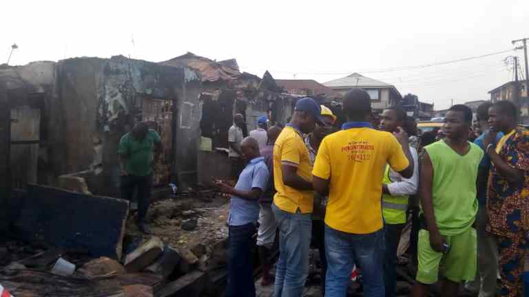 Two children dead, 23 Others Seriously injured In Lagos Gas Explosion 9