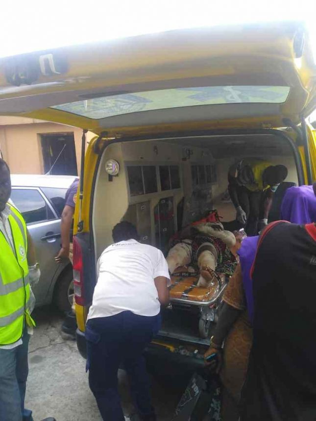 Two children dead, 23 Others Seriously injured In Lagos Gas Explosion 11