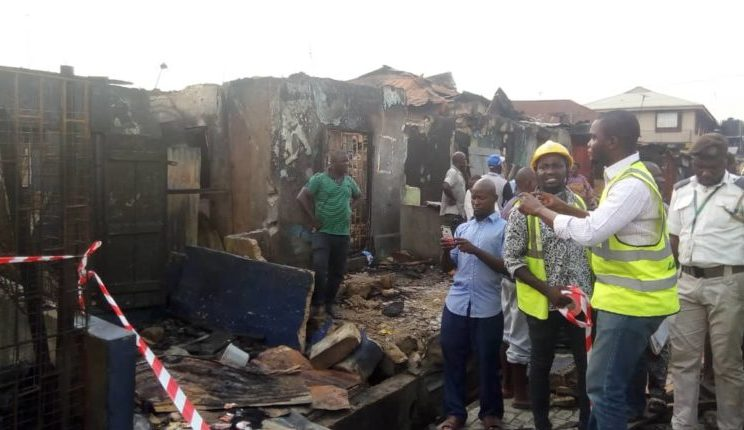 Two children dead, 23 Others Seriously injured In Lagos Gas Explosion 15