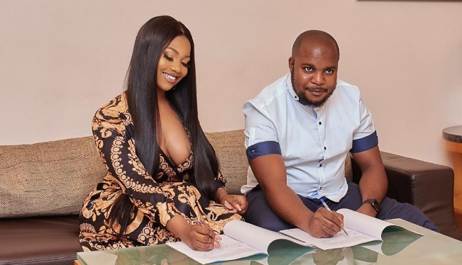 Tacha Bags New Endorsement Deal, Joins Mercy And CeeC As Ambassador For Royal Hair 1