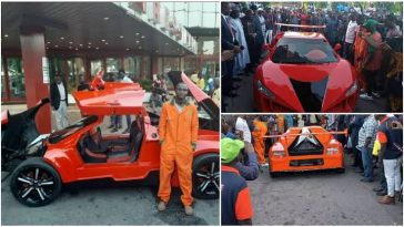 25-Year-Old Jerry Mallo Manufactures First Nigerian 'Carbon Fiber' Sports Car [Video] 1