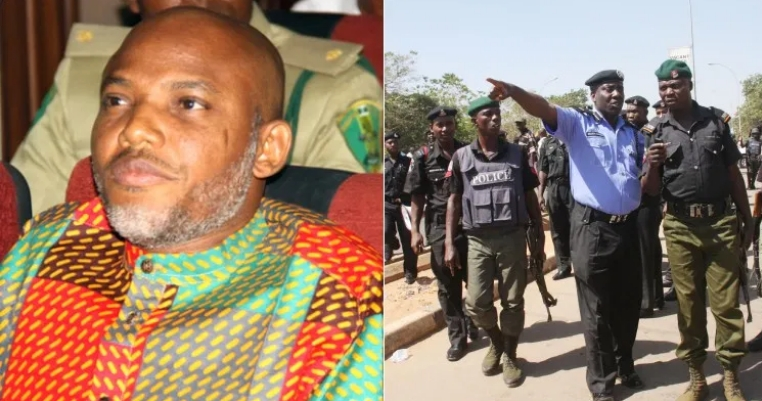 We Will Arrest Nnamdi Kanu If He Comes Home For His Mother's Burial - Nigerian Police 1