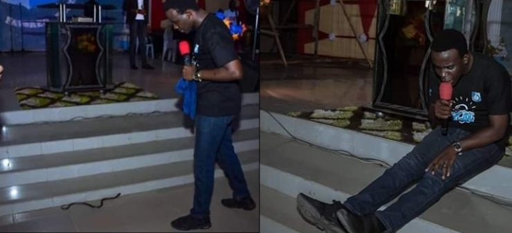RCCG Pastor Claims He Was Attacked By A Snake At The Church Altar In Lagos [Photos] 1