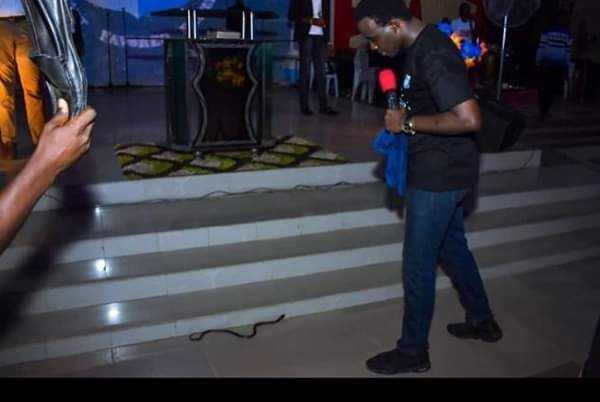 RCCG Pastor Claims He Was Attacked By A Snake At The Church Altar In Lagos [Photos] 3