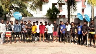 Students, Teachers Arrested As EFCC Storm Yahoo Boys Academy In Akwa Ibom [Photos] 3