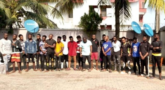 Students, Teachers Arrested As EFCC Storm Yahoo Boys Academy In Akwa Ibom [Photos] 1