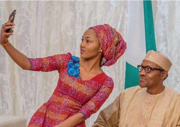 """""""Nigerians Attack Me For My Father's Action"""" - Buhari's Daughter Supports Social Media Bll 1"""