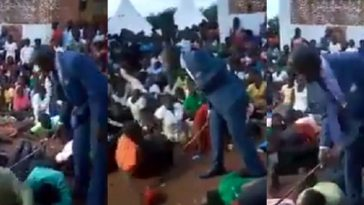 Watch Pastor Flog His Church Members For Not Attending Sunday Service [Video] 2