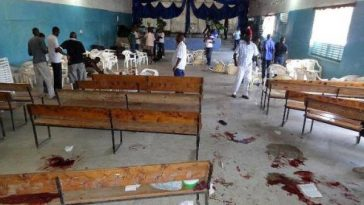 14 Persons Shot Dead As Unidentified Gunmen Invades Church During Sunday Service 3