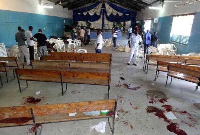14 Persons Shot Dead As Unidentified Gunmen Invades Church During Sunday Service 1