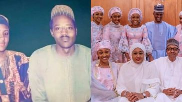 Buhari Shares Throwback Photo With Aisha As They Celebrate 30th Wedding Anniversary 13