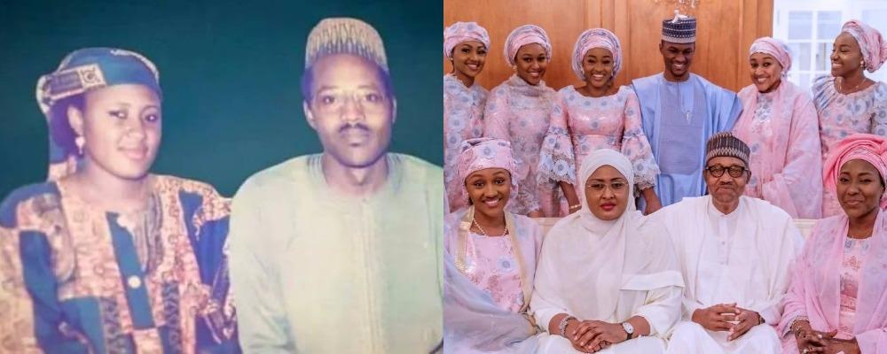 Buhari Shares Throwback Photo With Aisha As They Celebrate 30th Wedding Anniversary 1