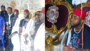 Davido Not Conferred With Chieftaincy, He Was Adopted Into The Royal Family - Delta Chief 1