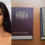 Actress Etinosa Smokes Using Bible Pages, Islamic Man Dares Her To Try It With Quran [Video] 27