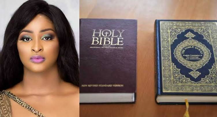 Actress Etinosa Smokes Using Bible Pages, Islamic Man Dares Her To Try It With Quran [Video] 1