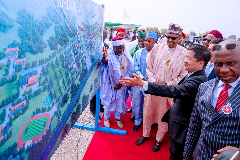 President Buhari Commissions Transport University In His Hometown, Daura [Photos/Video] 1