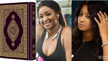 Actress Etinosa Insists She Will Tear The Quran And Use It To Smoke If Paid N10 Million 5