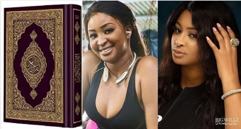 Actress Etinosa Insists She Will Tear The Quran And Use It To Smoke If Paid N10 Million 1