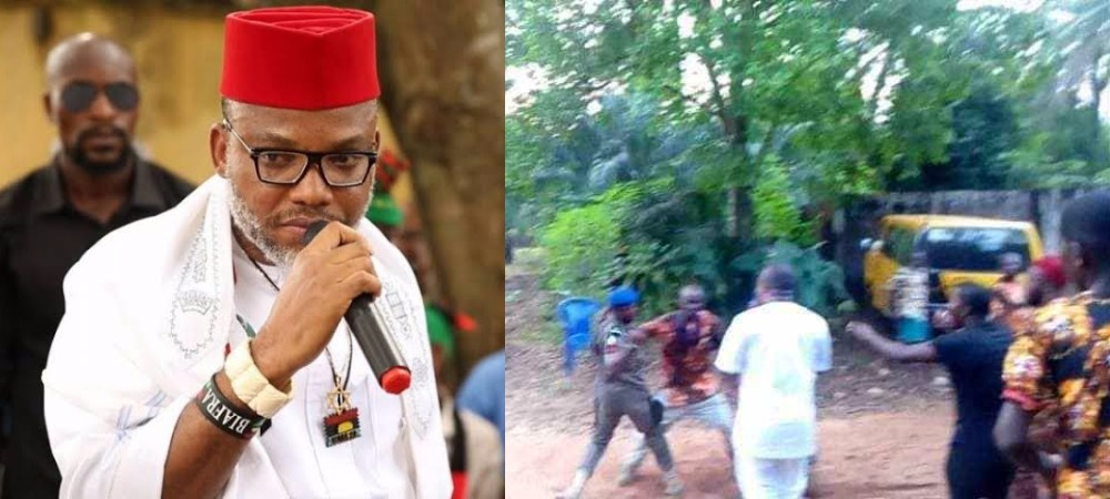 5 Dead As Police And IPOB Members Clash At Nnamdi Kanu's Lawyer's Home In Anambra 1