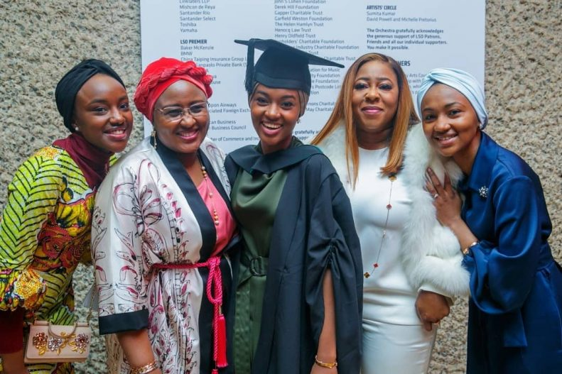 Buhari's Daughter Graduates With First Class From UK University After Doing Final Year Project in Kebbi State 4