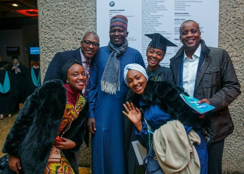 Buhari's Daughter Graduates With First Class From UK University After Doing Final Year Project in Kebbi State 5