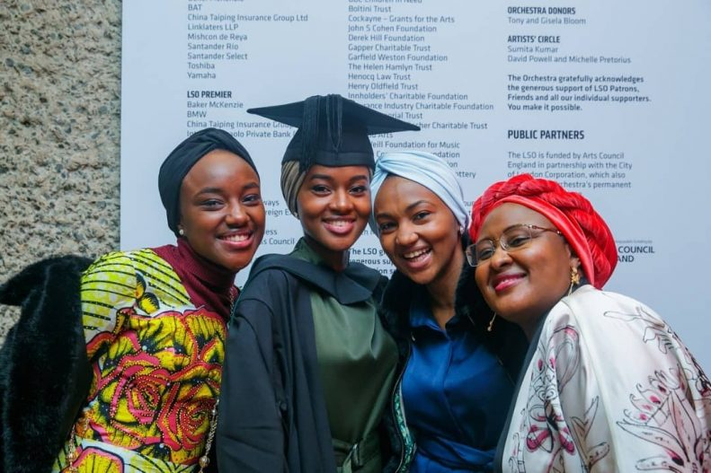 Buhari's Daughter Graduates With First Class From UK University After Doing Final Year Project in Kebbi State 6