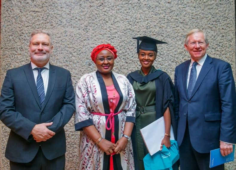Buhari's Daughter Graduates With First Class From UK University After Doing Final Year Project in Kebbi State 7