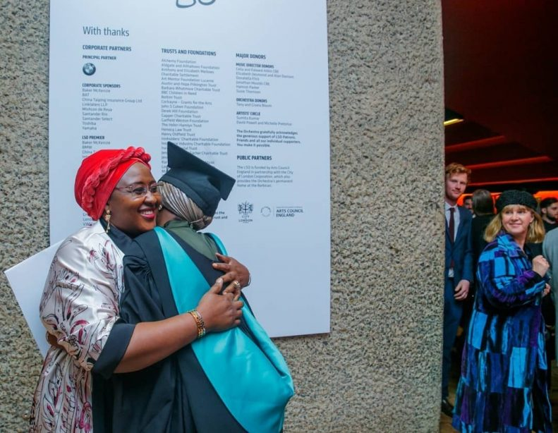 Buhari's Daughter Graduates With First Class From UK University After Doing Final Year Project in Kebbi State 8