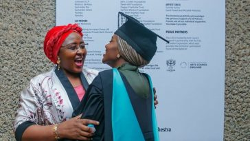 Buhari's Daughter Graduates With First Class From UK University After Doing Final Year Project in Kebbi State 94