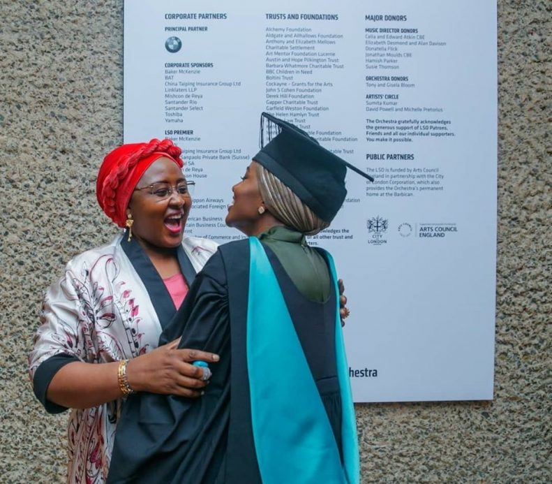 Buhari's Daughter Graduates With First Class From UK University After Doing Final Year Project in Kebbi State 9