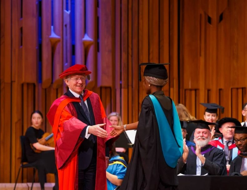 Buhari's Daughter Graduates With First Class From UK University After Doing Final Year Project in Kebbi State 10