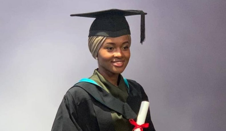 Buhari's Daughter Graduates With First Class From UK University After Doing Final Year Project in Kebbi State 1