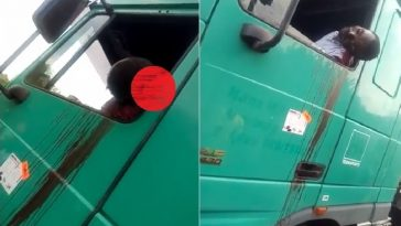 Policeman Allegedly Shoots Truck Driver In The Head Over N100 Bribe In Ondo [Graphic Video] 4