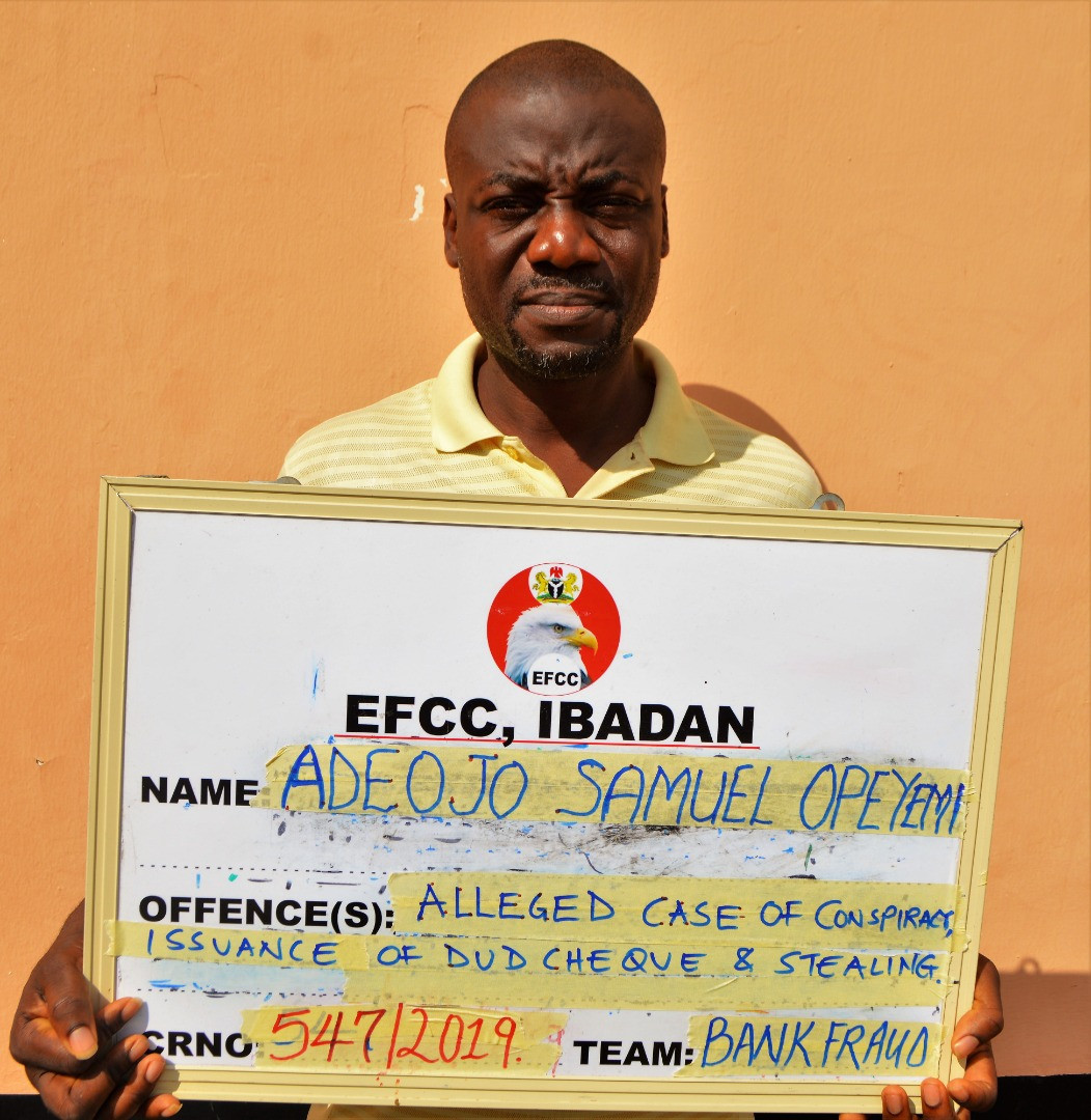 EFCC Arrests Former Ekiti Lawmaker For 'Notoriously' Stealing Cars From Dealers In Ibadan 1
