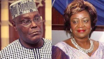 Atiku Signs Witness Statement In N2.5bn Libel Suit Against Buhari's Aide, Lauretta Onochie 1