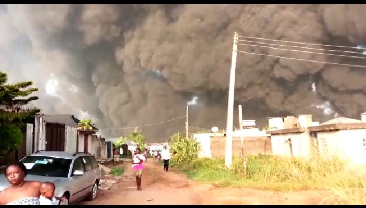 Pipeline Explosion Rocks Gloryland Estate and Diamond Estate Lagos - BREAKING NEWS 2