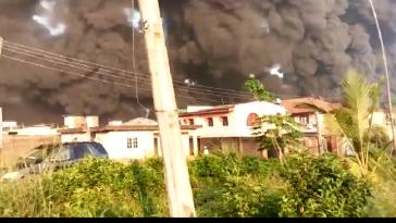 Pipeline Explosion Rocks Gloryland Estate and Diamond Estate Lagos - BREAKING NEWS 8