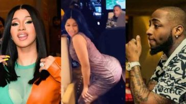 Cardi B Confirms Recording Remix Of Davido's 'Fall', Reveals Why It Wasn't Released [Video] 2
