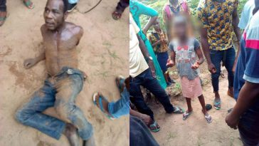 Man Caught Red-Handed Defiling A Little Girl He Lured Inside A Bus In Abia [Photos] 15
