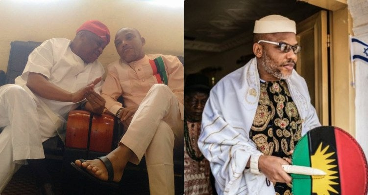 """""""Let What Befell Orji Uzor Kalu Serve As A Lesson To Other Igbo Leaders"""" - Nnamdi Kanu 1"""