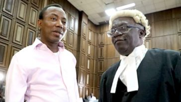 Sowore's Re-Arrest Is Extremely Embarrassing, Never Happened In Nigeria's History - Falana 7